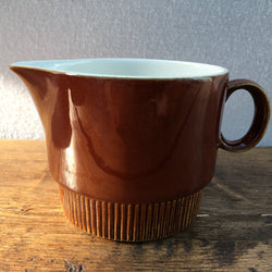 Poole Pottery Chestnut Milk Jug