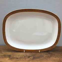 Poole Pottery Chestnut Oblong Serving Platter
