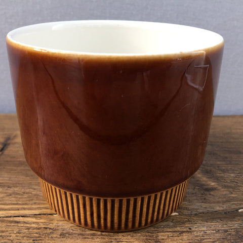 Poole Pottery Chestnut Open Sugar Bowl