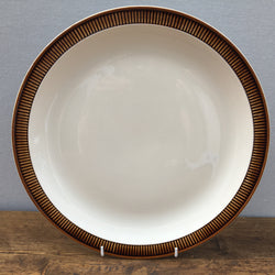 Poole Pottery Chestnut Round Serving Platter