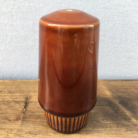 Poole Pottery Chestnut Salt Pot
