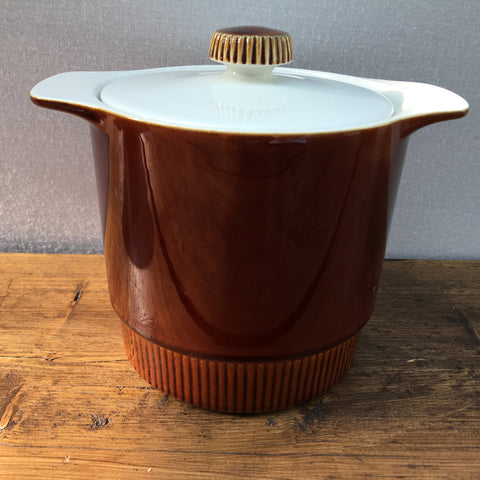 Poole Pottery Chestnut Tall Stew Pot