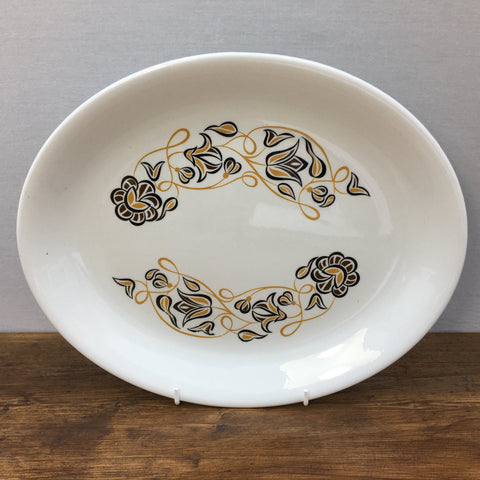 Poole Pottery Dessert Song Oval Platter