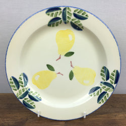 Poole Pottery Dorset Fruits Salad/Breakfast Plate (Pears)