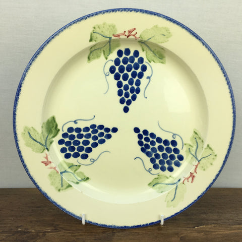 Poole Pottery Dorset Fruits Dinner Plate (Grapes)