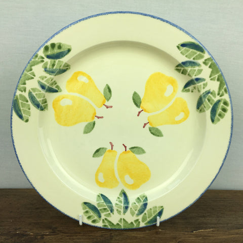 Poole Pottery Dorset Fruits Dinner Plate (Pears)