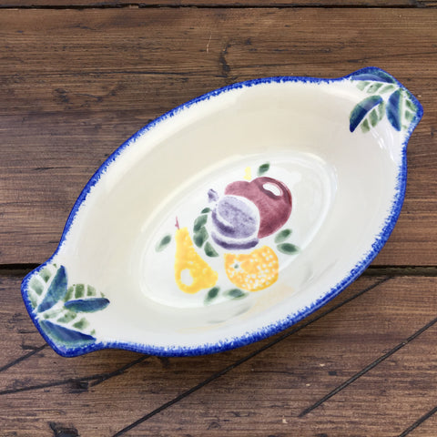 Poole Pottery Dorset Fruits Entrée Dish - Mixed Fruit