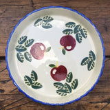 Poole Pottery Dorset Fruit Apples Flan Dish
