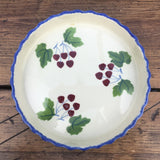 Poole Pottery Dorset Fruit Cherries Flan Dish