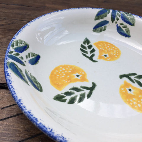 Poole Pottery Dorset Fruits Pasta Bowl Oranges