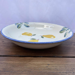 Poole Pottery Dorset Fruit Pasta Bowl - Pears
