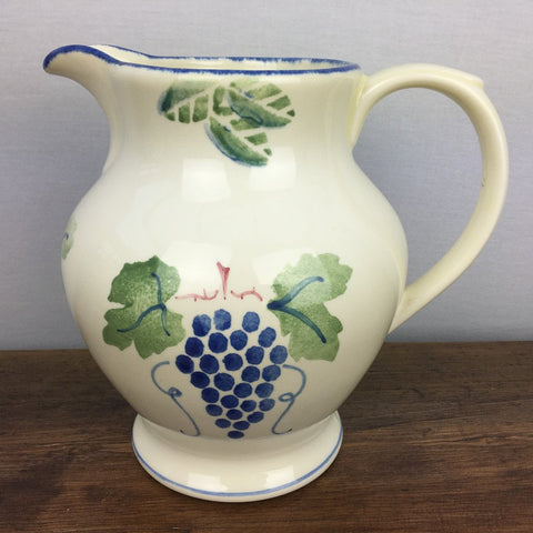 Poole Pottery Dorset Fruit Pitcher (Grapes)