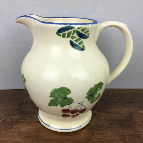 Poole Pottery Dorset Fruit Cherries 4 Pint Pitcher / Jug