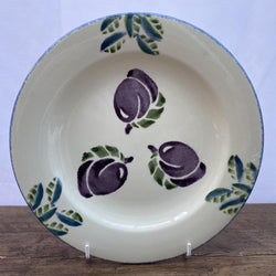 Poole Pottery Dorset Fruit Breakfast Plate Plums