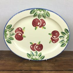 Poole Pottery Dorset Fruit Oval Platter Apples