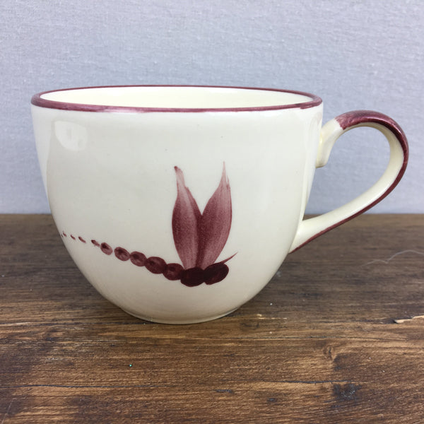 Poole Pottery Dragonfly Red Tea Cup