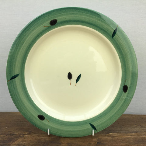 Poole Pottery Fresco Dinner Plate (Green)