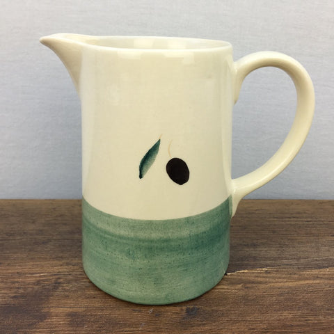 Poole Pottery Fresco Milk Jug Green