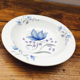 Poole Pottery Harebell Soup Bowl