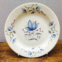 Poole Pottery Harebell Tea Plate (With Rim)