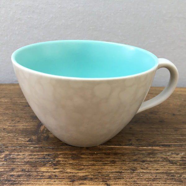 Poole Pottery Ice Green & Seagull Wide Breakfast Cup