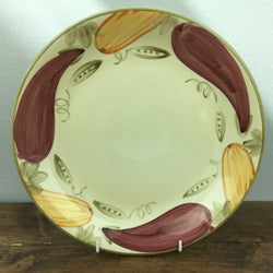 Poole Pottery Legumes Dinner Plate - Green Border