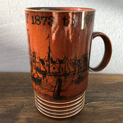 Poole Pottery Commemorative Mug