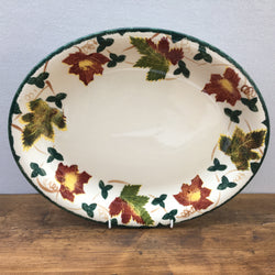 "Poole Pottery New England 14"" Oval Platter"