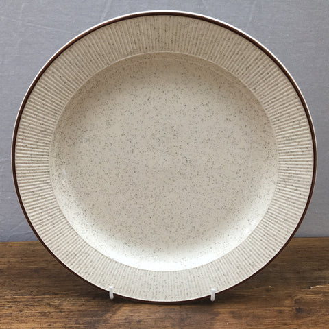 "Poole Pottery ""Parkstone"" Dinner Plate (Wide Rim)"