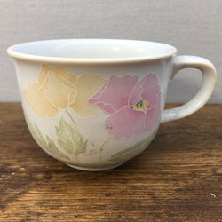 Poole Pottery Peony Coffee Cup