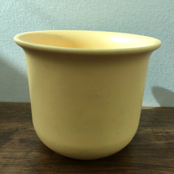 Poole Pottery Planter / Plant Pot (Yellow)