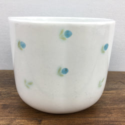 Poole Pottery Planter (Blue Flowers)