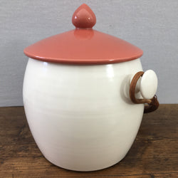 Poole Pottery Red Indian Biscuit Barrel