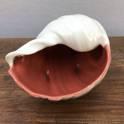 Poole Pottery Red Indian & Magnolia Shell