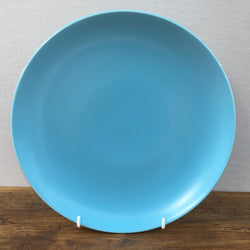 Poole Pottery Sky Blue & Dove Grey Dinner Plate