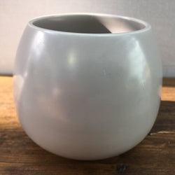Poole Pottery Sky Blue & Dove Grey Rounded Jam Pot Base