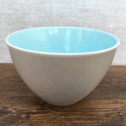 Poole Pottery Sky Blue & Dove Grey Sugar Bowl