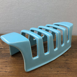 Poole Pottery Sky Blue & Dove Grey Toast Rack