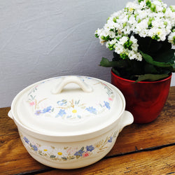 Poole Pottery Springtime Lidded Serving Dish, 2.25 Pints, Lugged