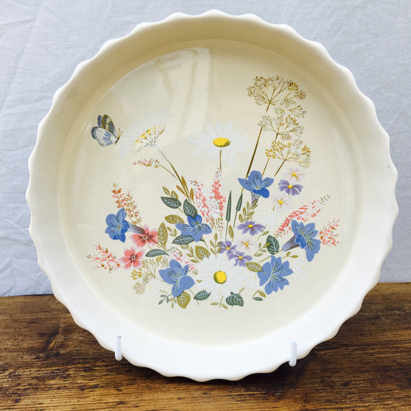 Poole Pottery Springtime Flan Dish, 9.75""