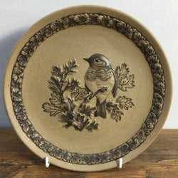 Poole Pottery Stoneware Plates - The Robin