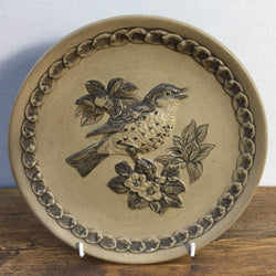 Poole Pottery Stoneware Plates - The Song Thrush