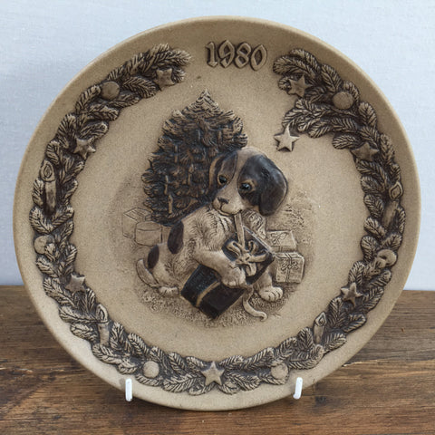 Poole Pottery Temptation 1980 Christmas Plate