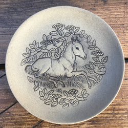 "Poole Pottery Stoneware 5"" Plate - Pony"
