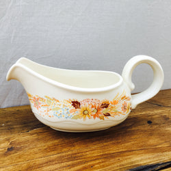 Poole Pottery Summer Glory Gravy Boat