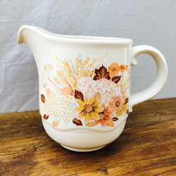 "Poole Pottery ""Summer Glory"" Jug, 1 Pint"