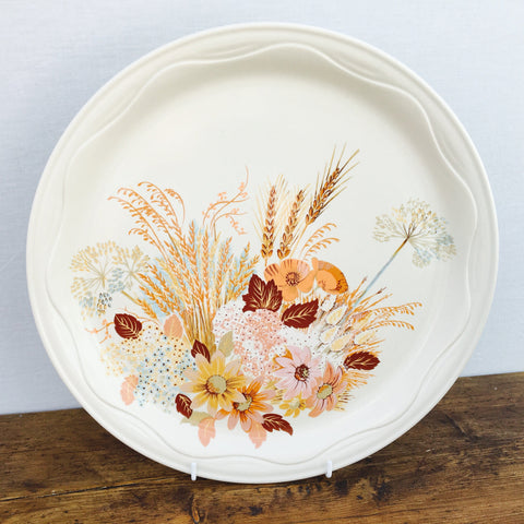 Poole Pottery Summer Glory Serving Platter, Round