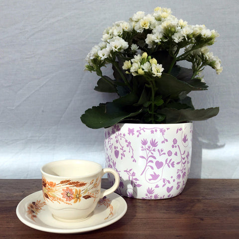 Poole Pottery Summer Glory Coffee Cup