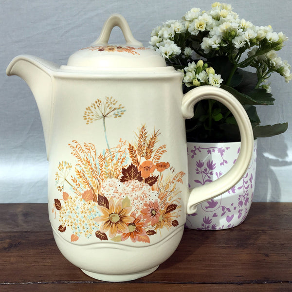 Poole Pottery Summer Glory Coffee Pot