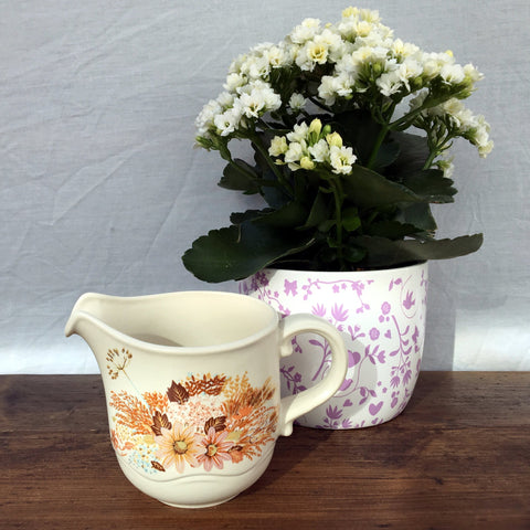 Poole Pottery Summer Glory Milk Jug